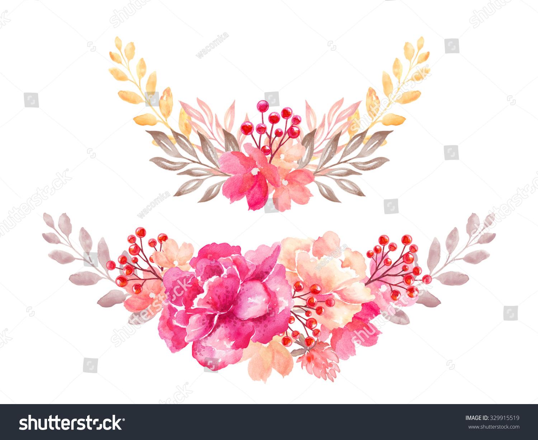 Clip Art Flower Garland