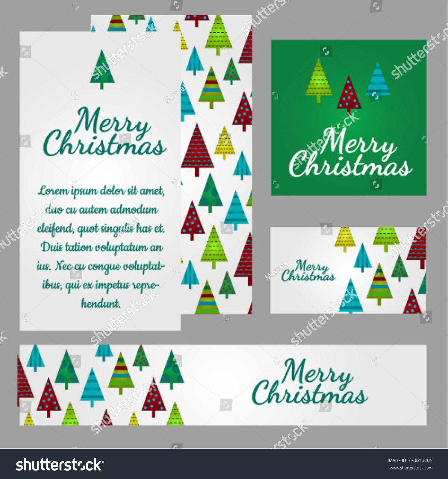 Christmas sketch space text texture funny stock vector 330019205 christmas sketch with space for text and texture of funny fir trees on a green and kristyandbryce Images