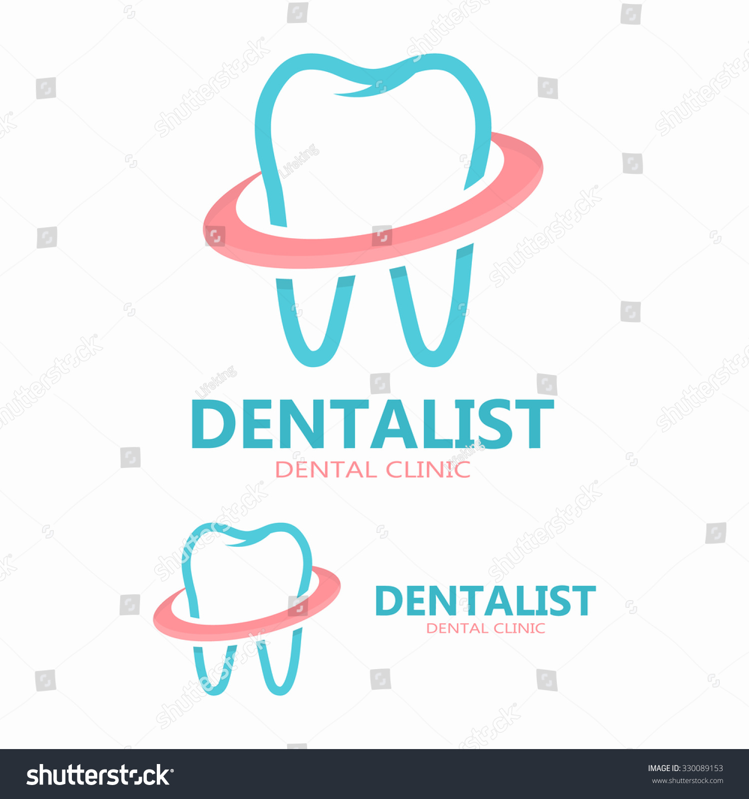 Vector dental care logo