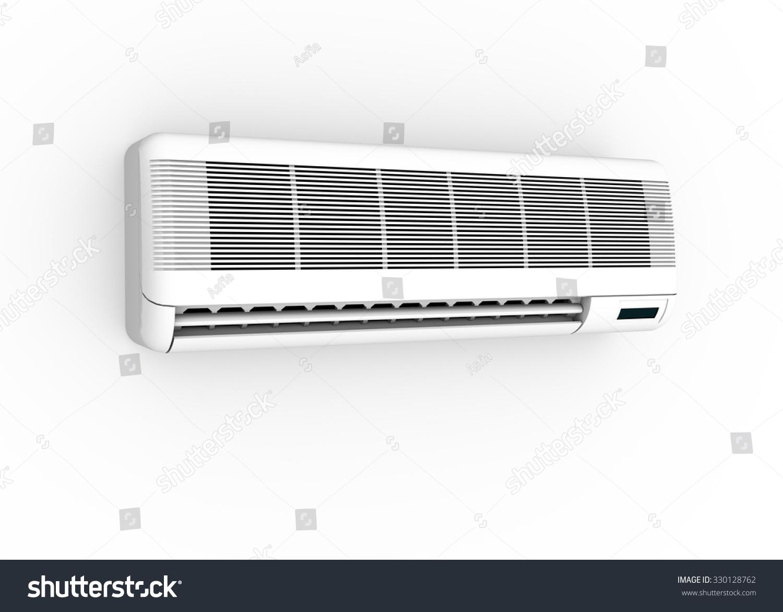 3d Illustration Of Air Conditioner Split Unit 330128762  #2A3138