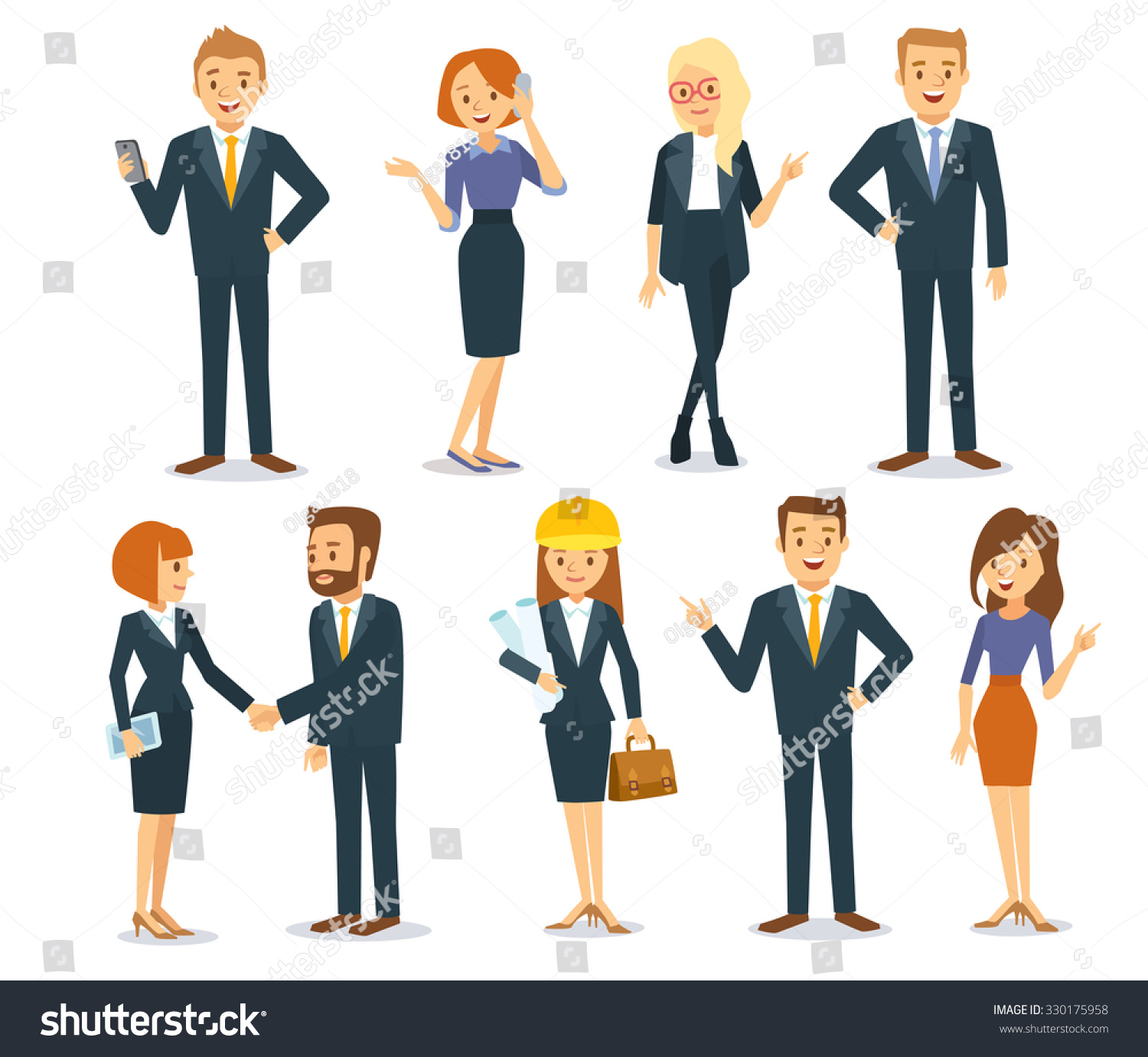 Business Vector People...