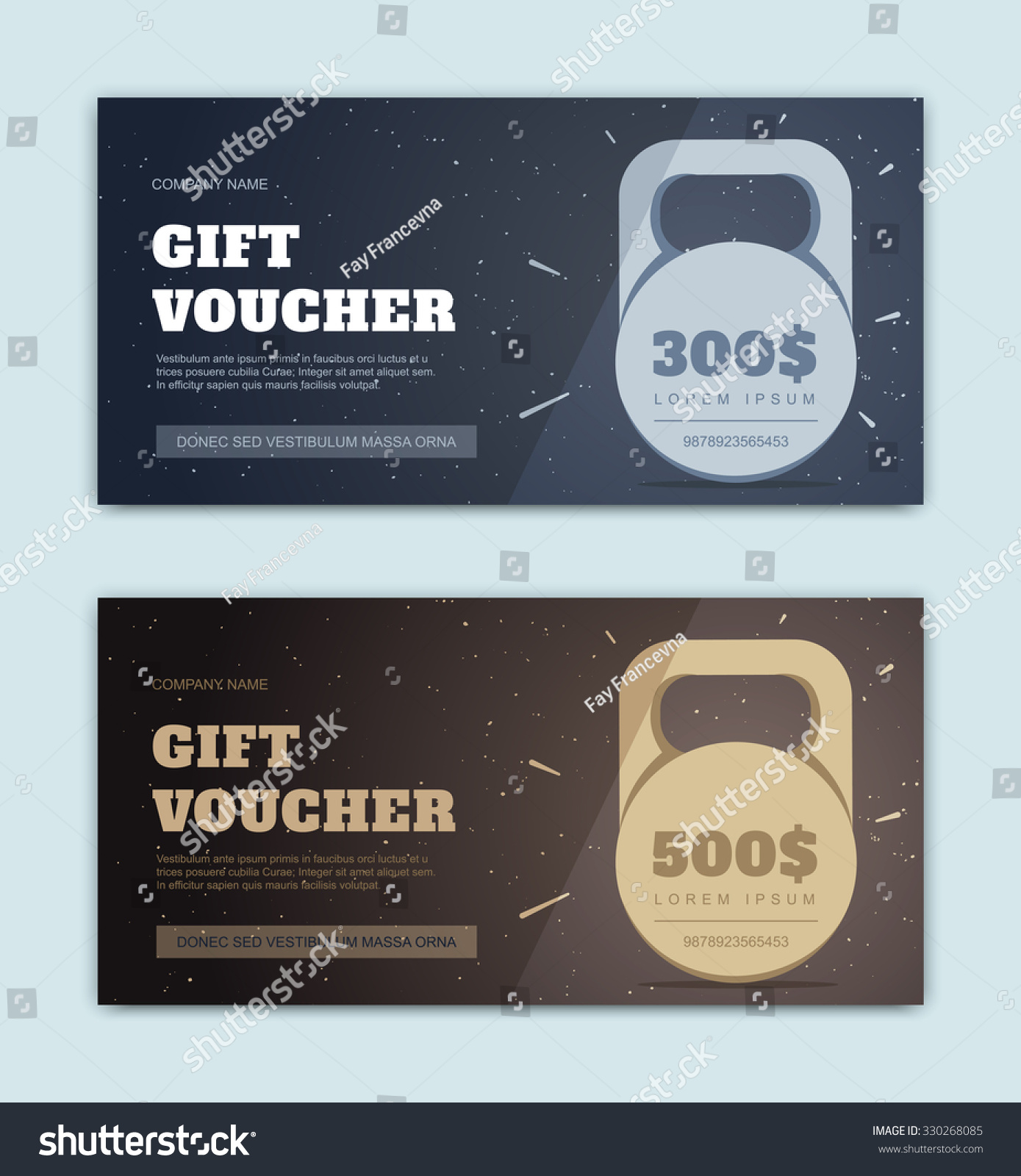 Vector black gift voucher sports fitness stock vector 330268085 vector black gift voucher for sports and fitness premium offer gold certificate yadclub Choice Image