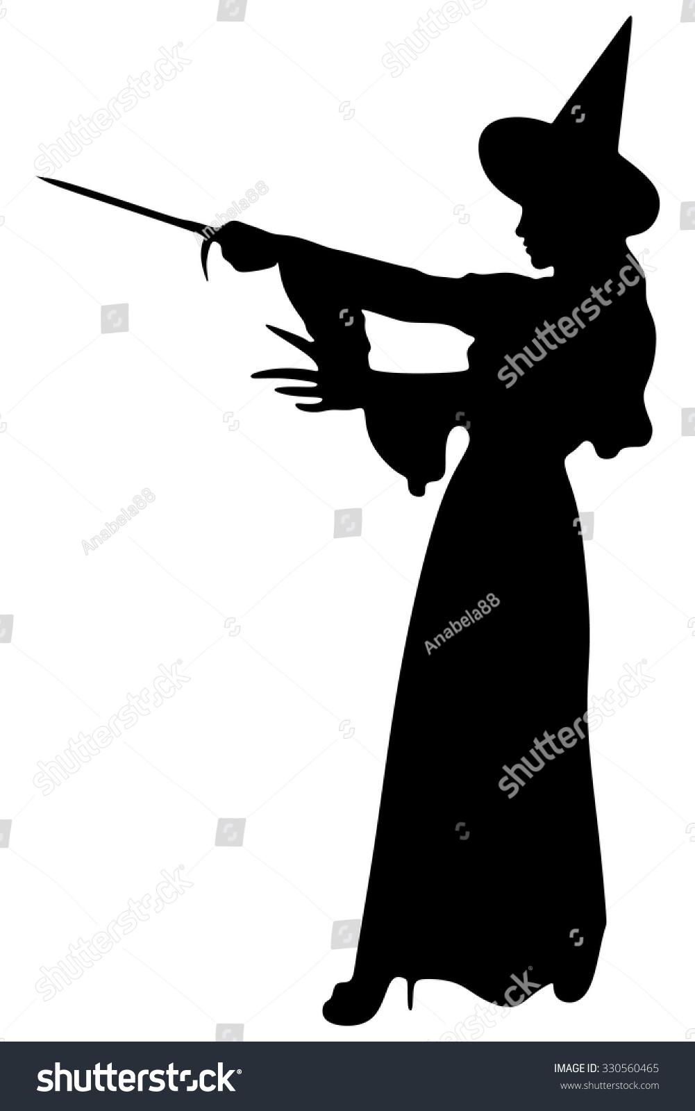 halloween witch beautiful young woman witches stock vector