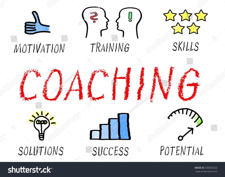 Coaching Professional Training Great Performance Stock Illustration 330565523 Shutterstock