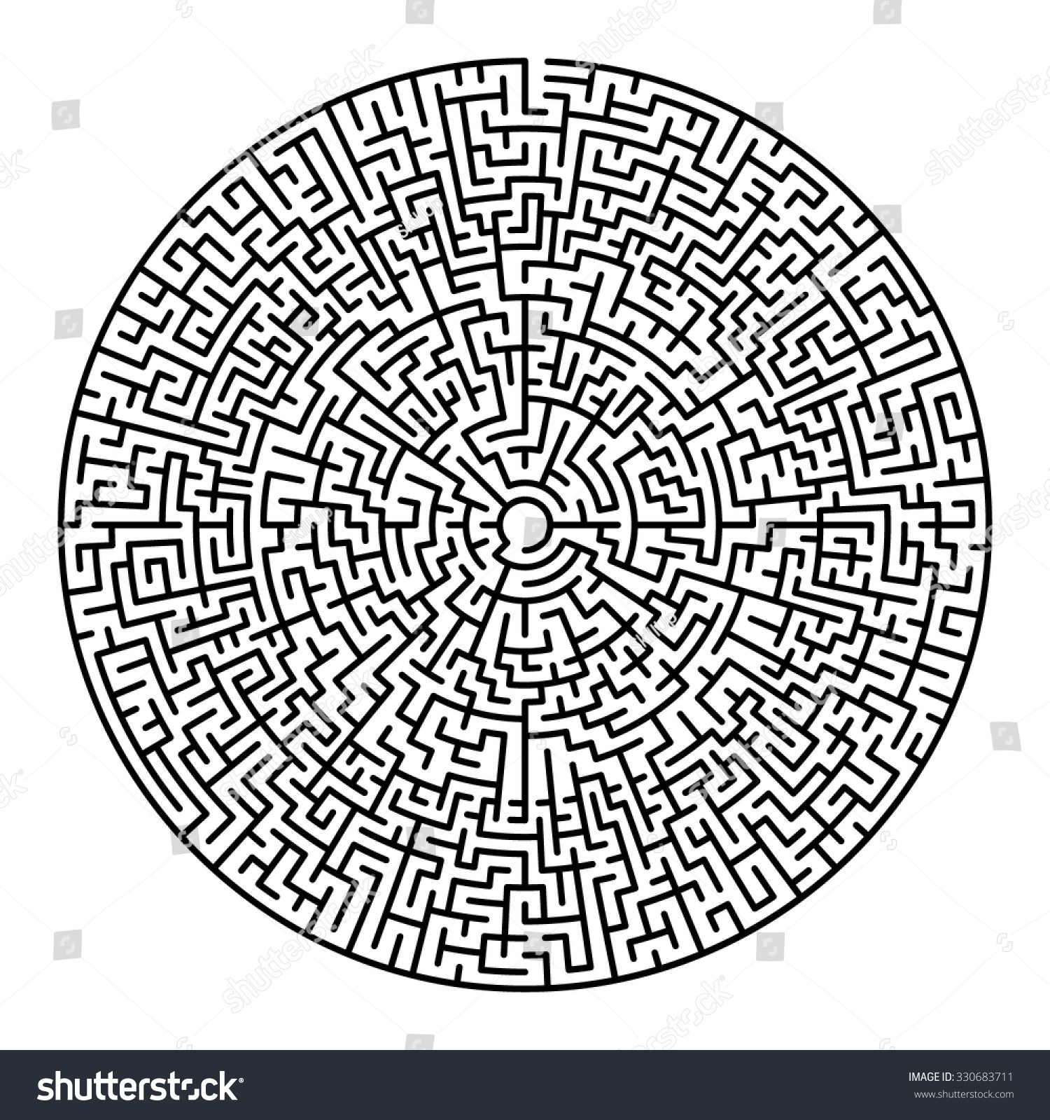 Labyrinth News Photos Wvphotos How To Make A Classical 5 Circuit From Meander Round Maze Entry Exit Find Stock Vector 330683711 With And The Way Out Concept Transportation