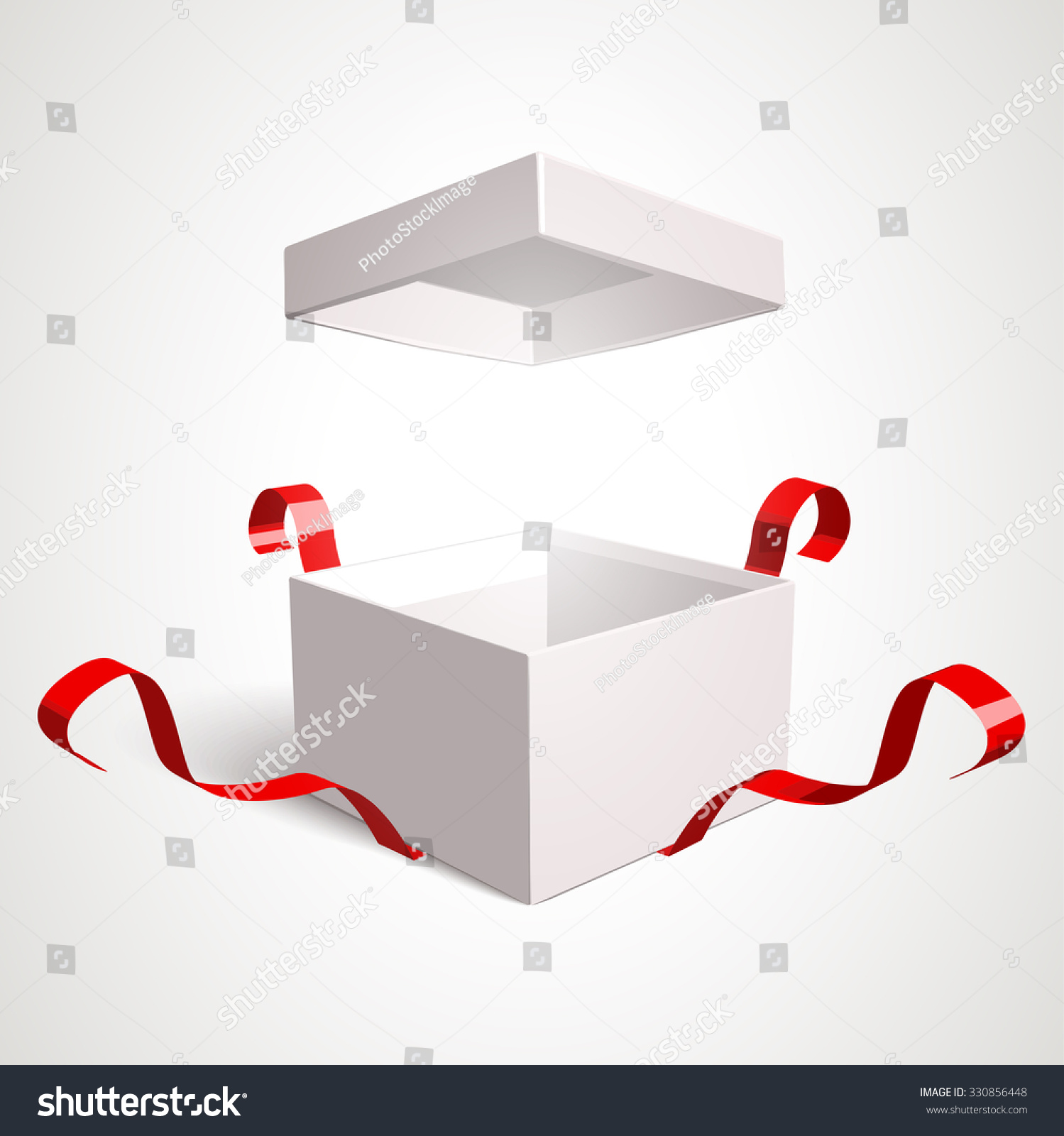 Open gift box vector design template 330856448 open gift box vector design template elements are separately editable in vector file negle Images