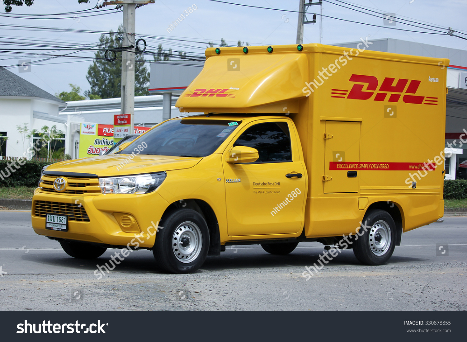 Dhl Pickup Locations >> Chiangmai Thailand September 1 2015 Dhl Stock Photo Edit Now