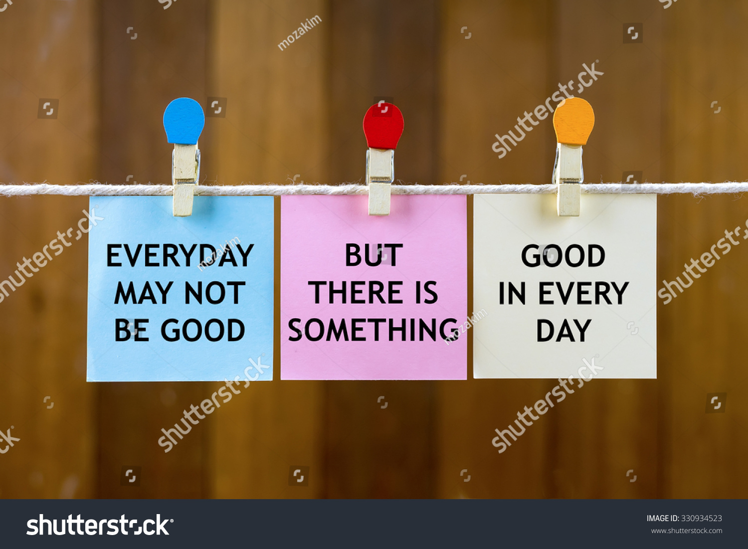 Word Quotes Everyday May Not Be Stock Photo 330934523