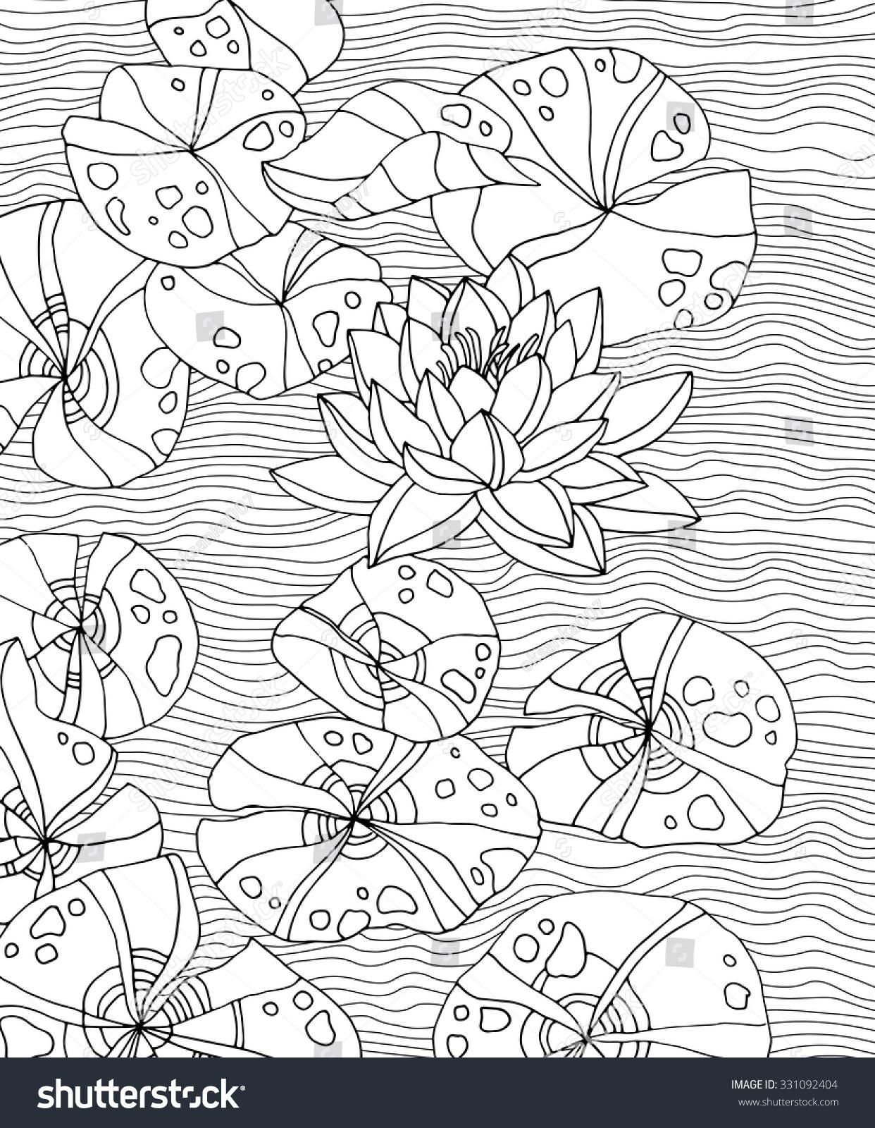 Amazing Waterlilies Forest Wild Plant Lotus Stock Vector 331092404 on pergola design, okinawa design, zen small backyard ideas, zen gardens in japan, loft design, zen gardens landscaping, landscape design, zen flowers, zen space, zen gardening, zen art, zen symbols, mail kiosk design, pool design, zen doodle designs instruction, zen paint colors, patio design,