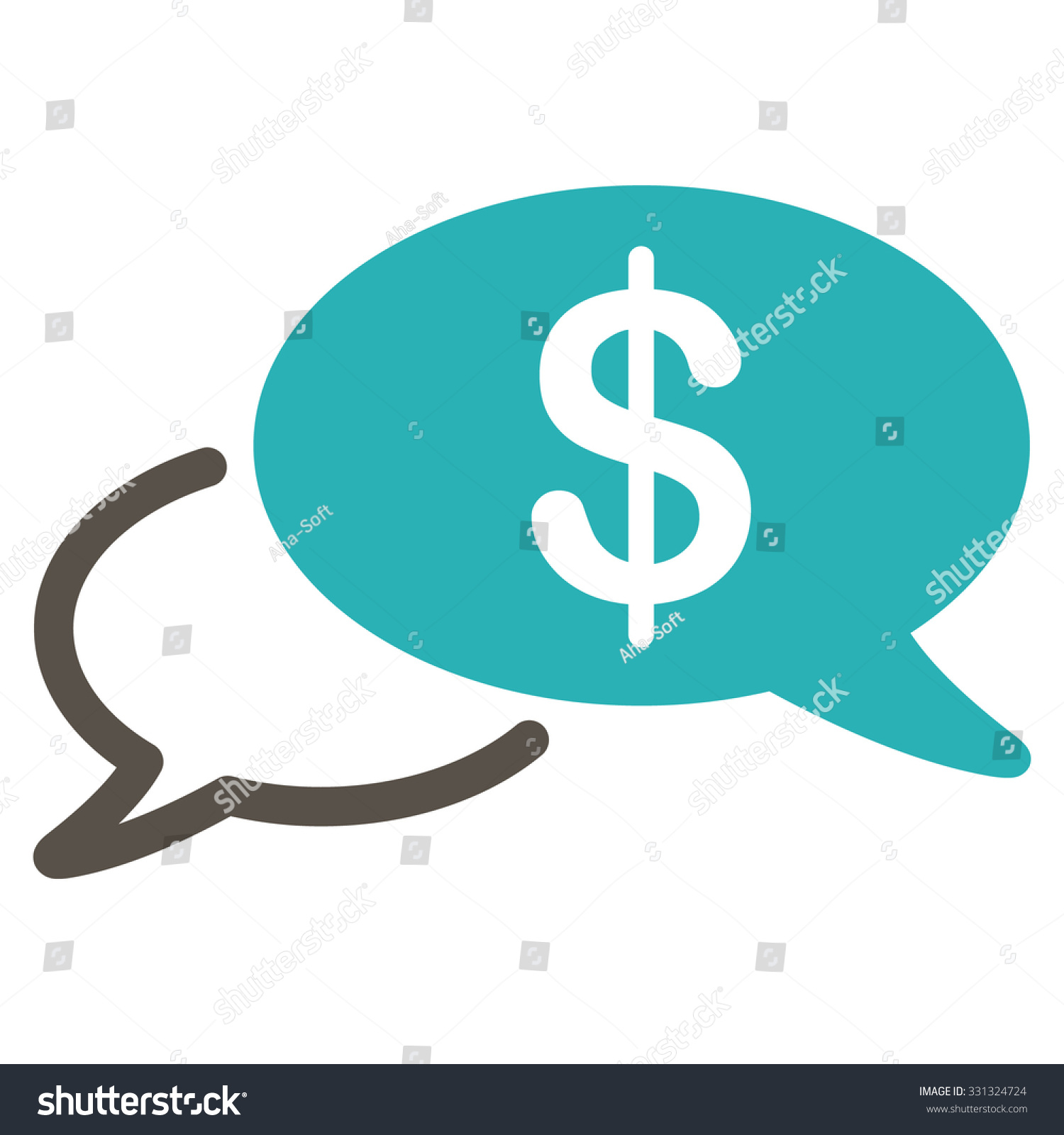 Wire Transfer Vector Icon Style Flat Stock Vector (Royalty Free ...