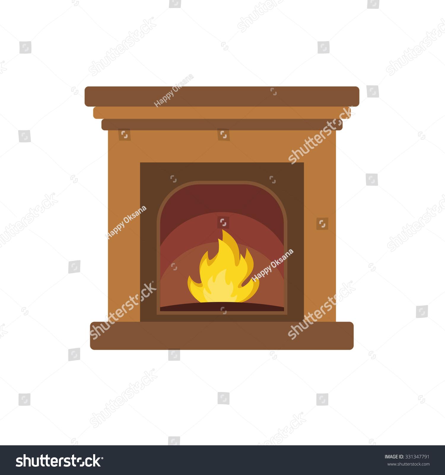 christmas fireplace stock vector 331347791 shutterstock