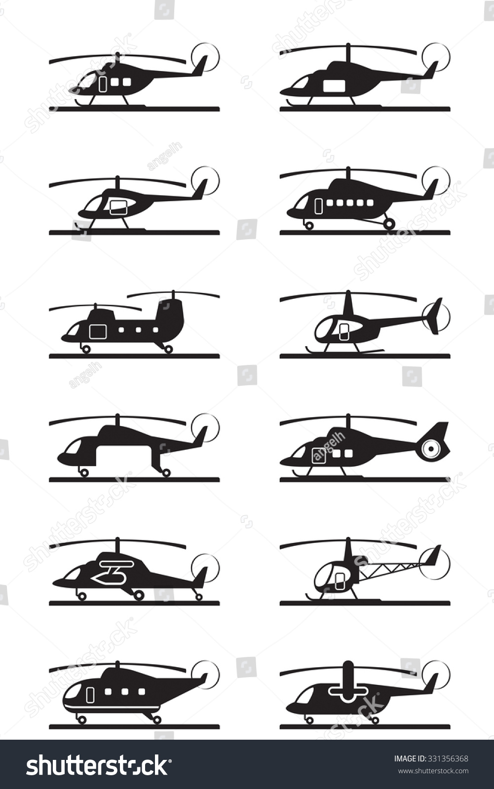 civil helicopters with Stock Vector Different Types Of Helicopters Vector Illustration on 27 Of The Most Eye Popping Cargo Aircraft Ever Built additionally Eurocopter AS 532 Cougar likewise H175 36 as well Om Atr Air Transport Europe Bell 429 furthermore Watch.