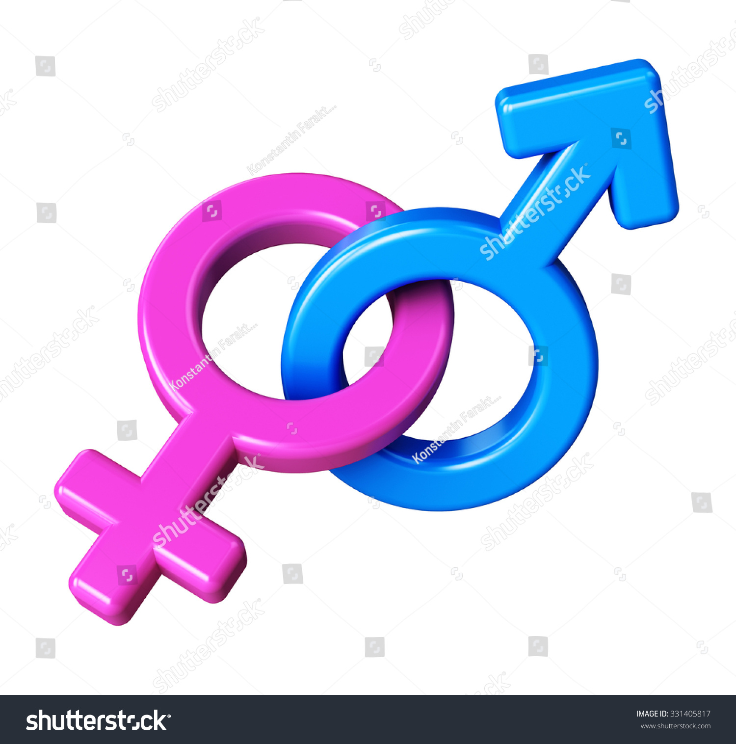 Royalty Free Stock Illustration Of Male Female Symbols Mars Venus