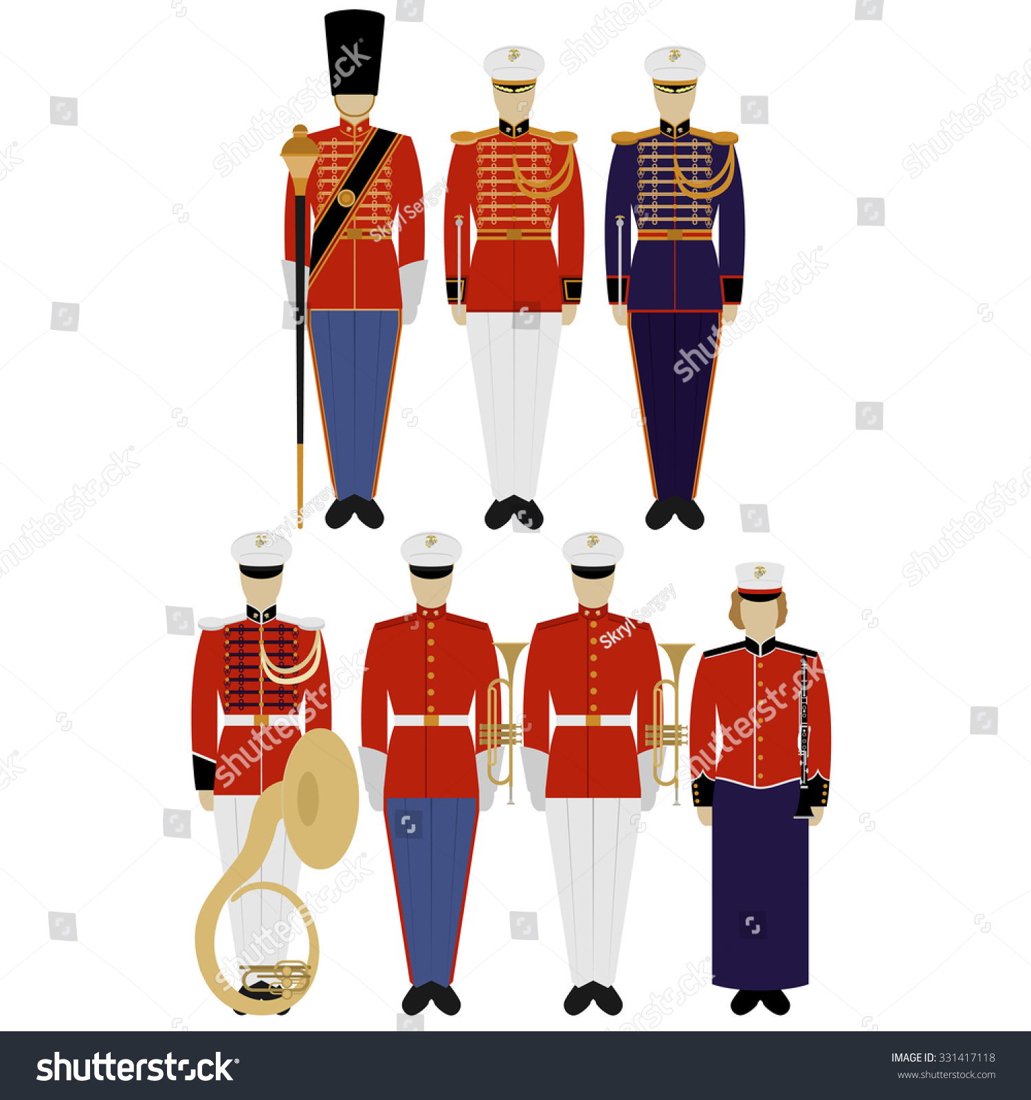Army Band Uniform - Best Voyeur Porn - photo#44