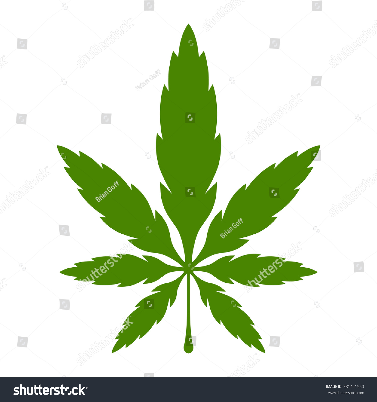 stylized green marijuana pot weed leaf stock vector hd royalty free rh shutterstock com pot leaf polo shirt pot leaf leggings/ stockings