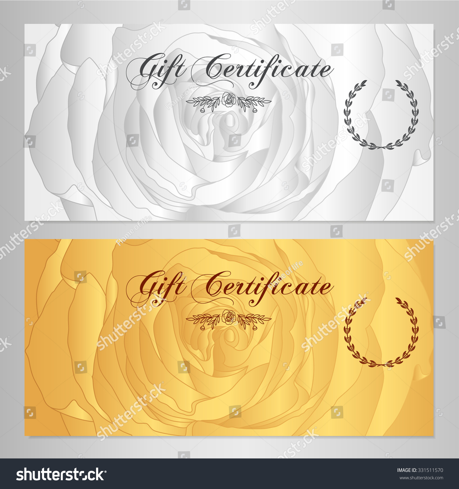 Manicure Gift Certificate Template