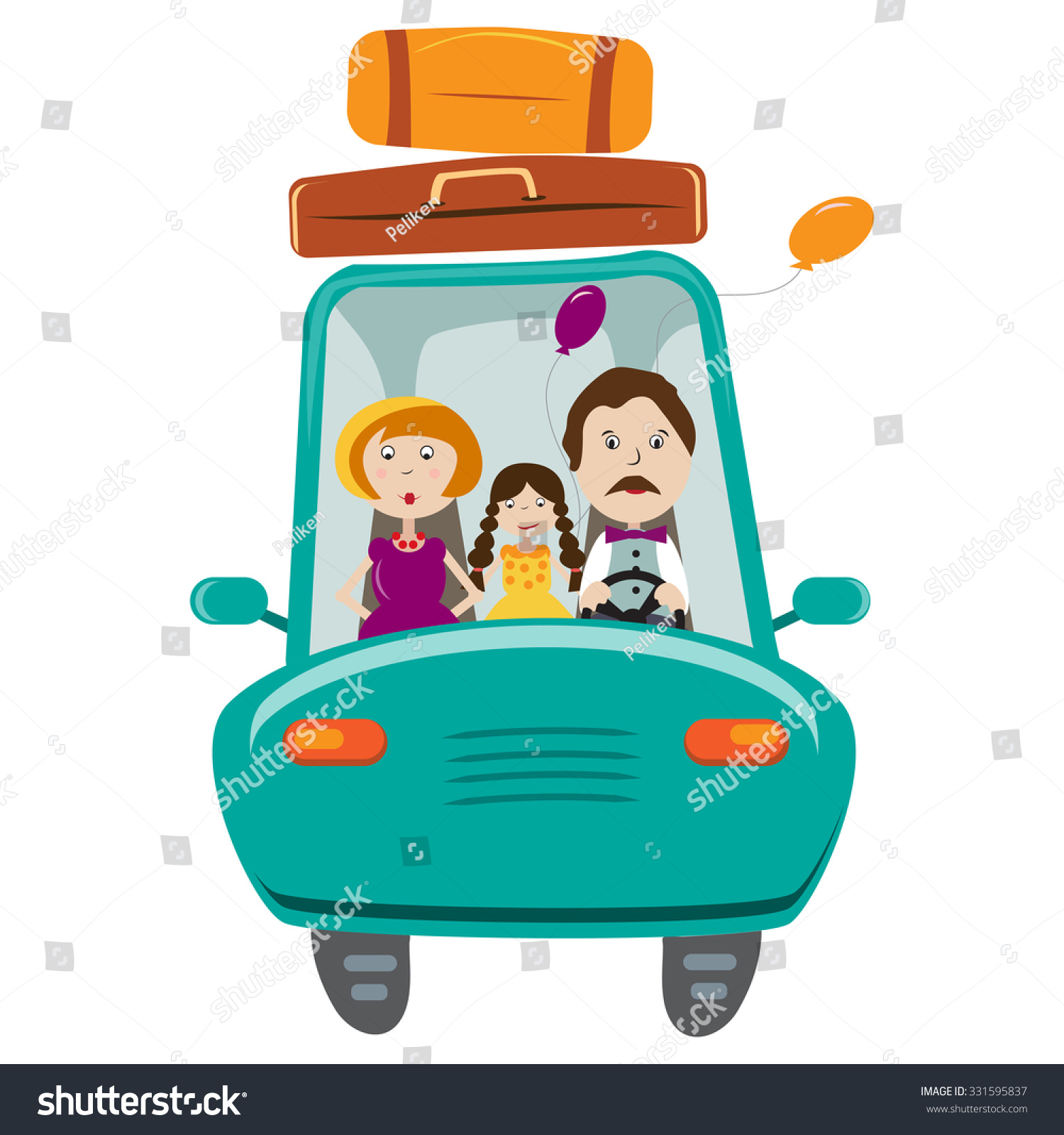 clipart of family vacation - photo #49