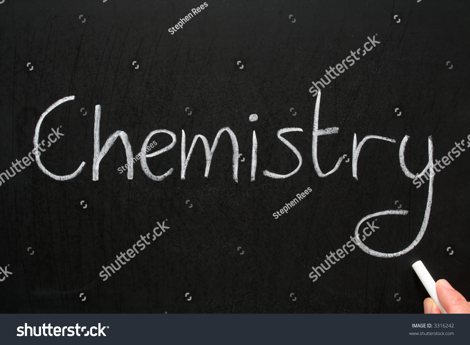 Writing in chemistry