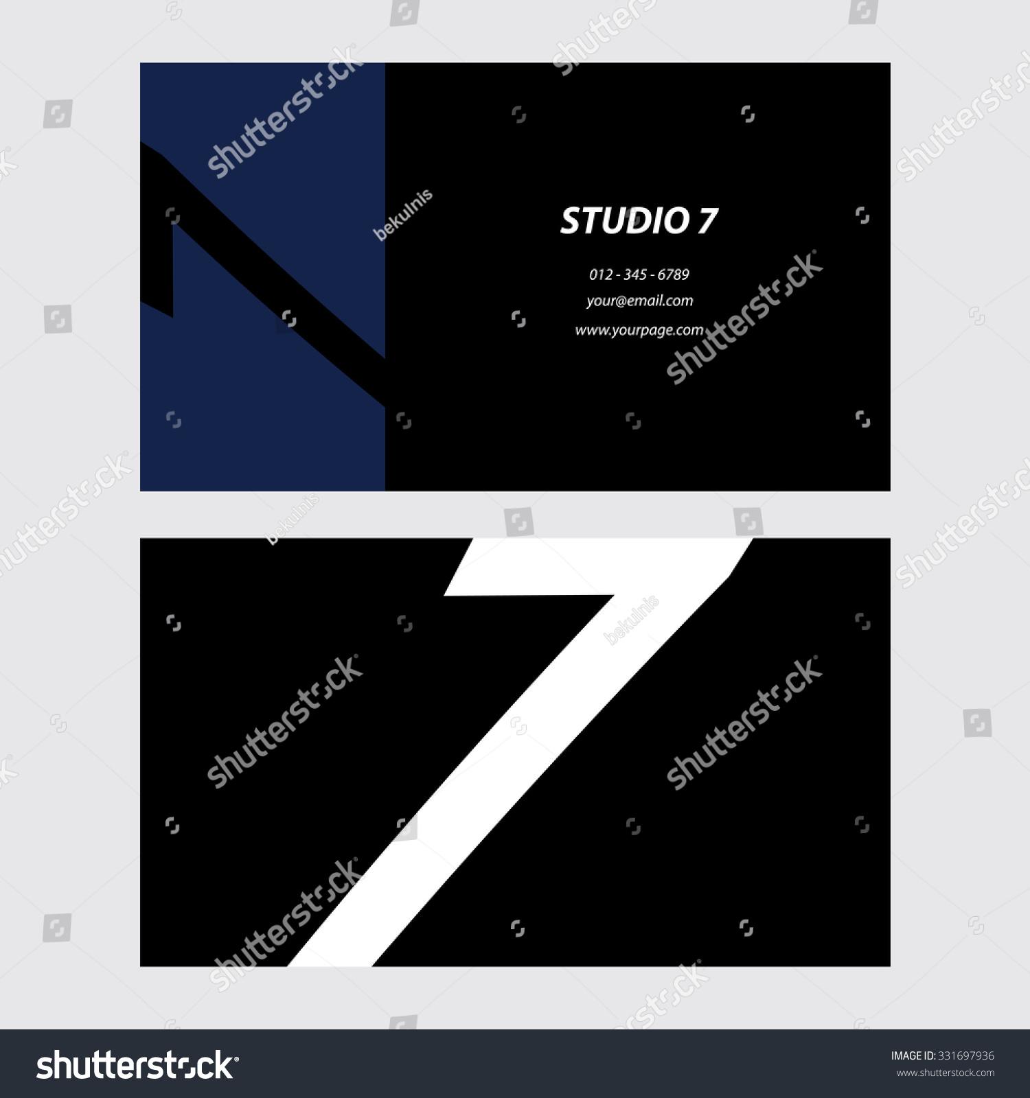 Original Business Card Stock Vector 331697936 - Shutterstock