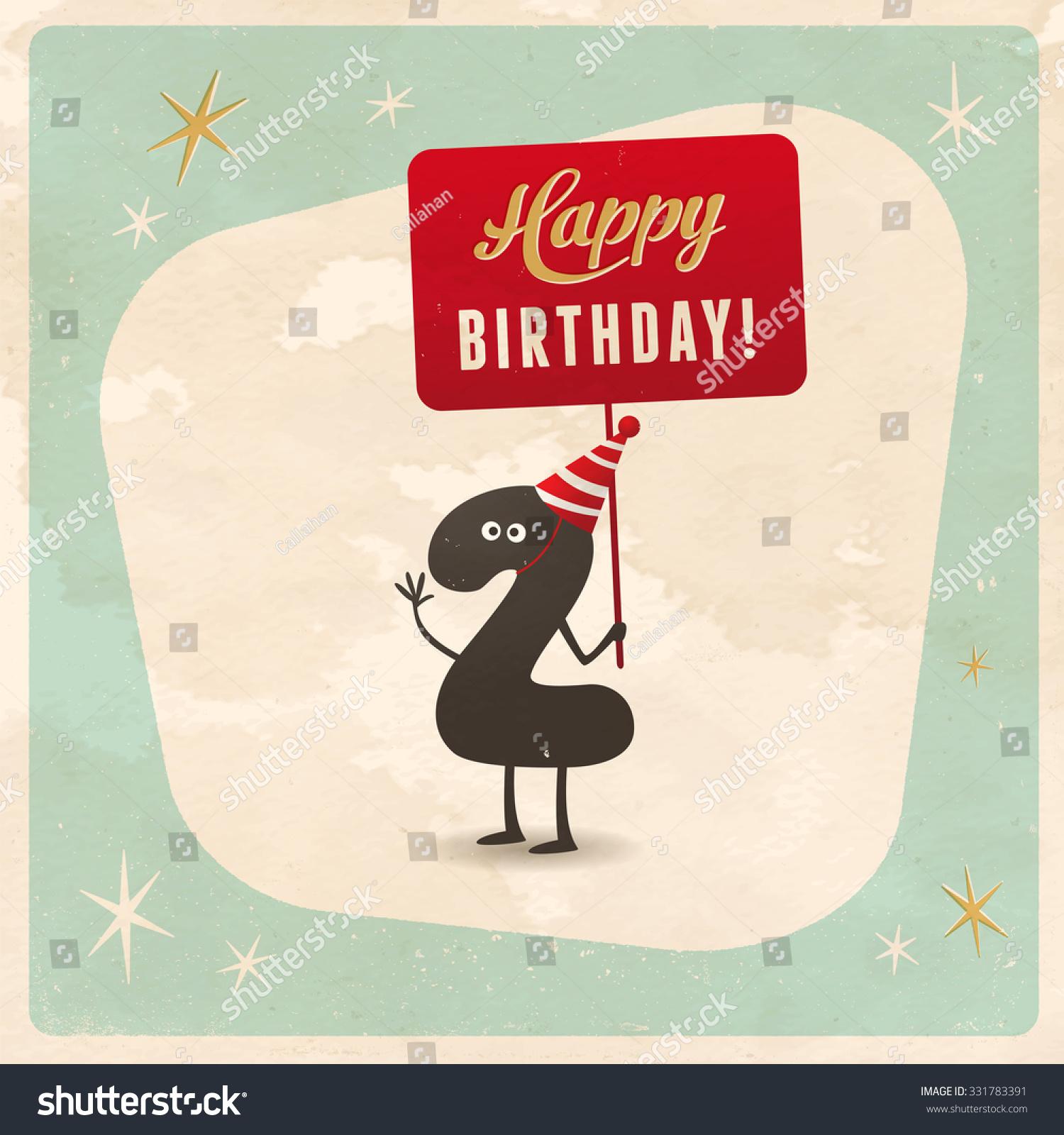 2nd Birthday Card Free Birthday Cards