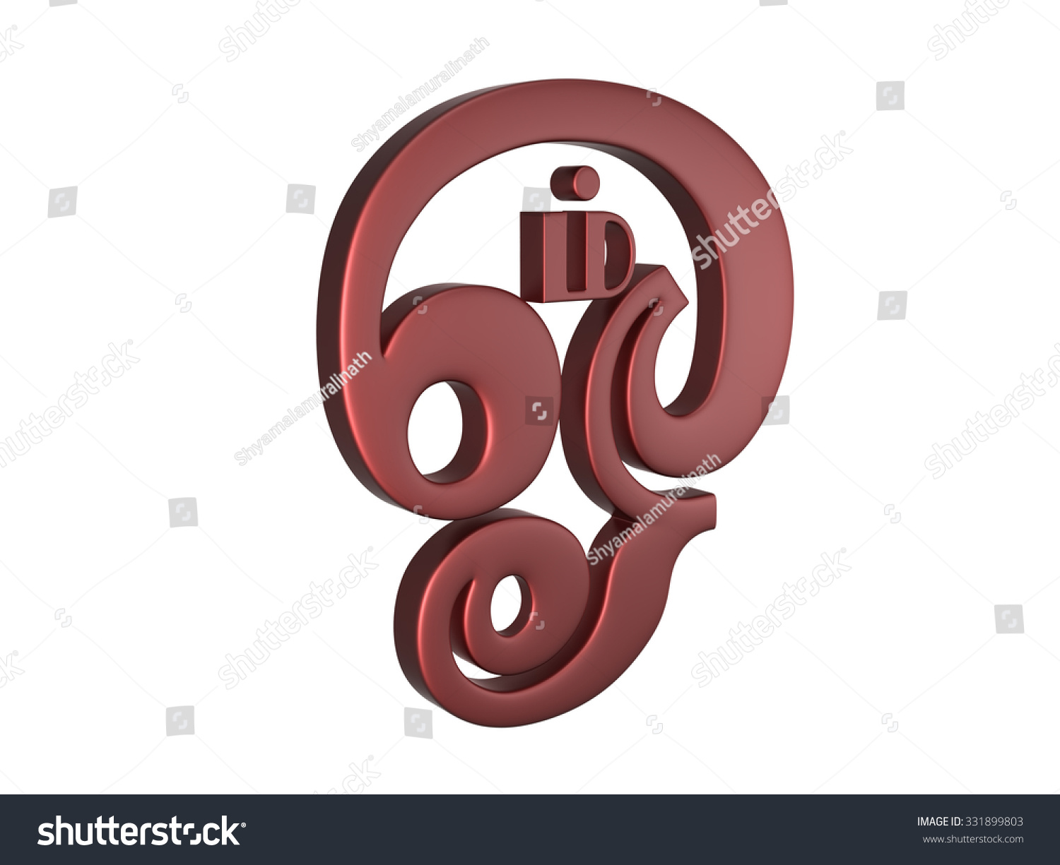 Tamil Om Symbol Stock Illustration 331899803 Shutterstock