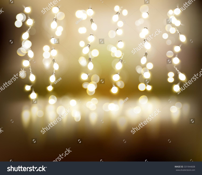 String Of Lights Illustration : Light Strings Vector Illustration Stock Vector 331944608 - Shutterstock