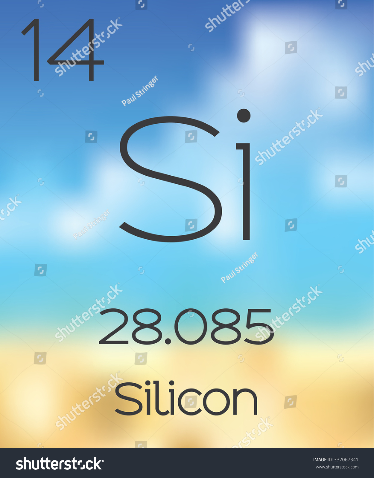 Periodic table elements silicon stock illustration 332067341 the periodic table of the elements silicon biocorpaavc Gallery