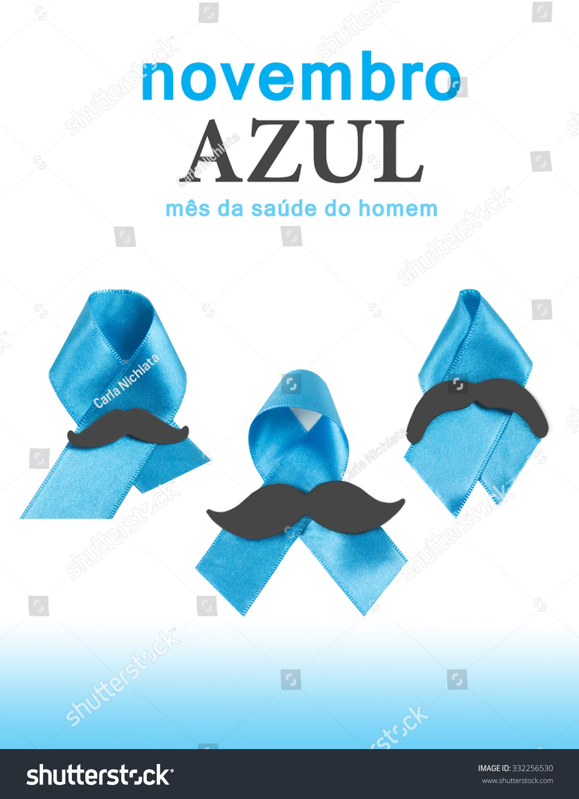royalty free prostate cancer awareness ribbons with 332256530