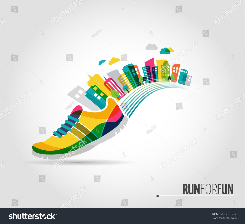 Sports Shoe Design Template