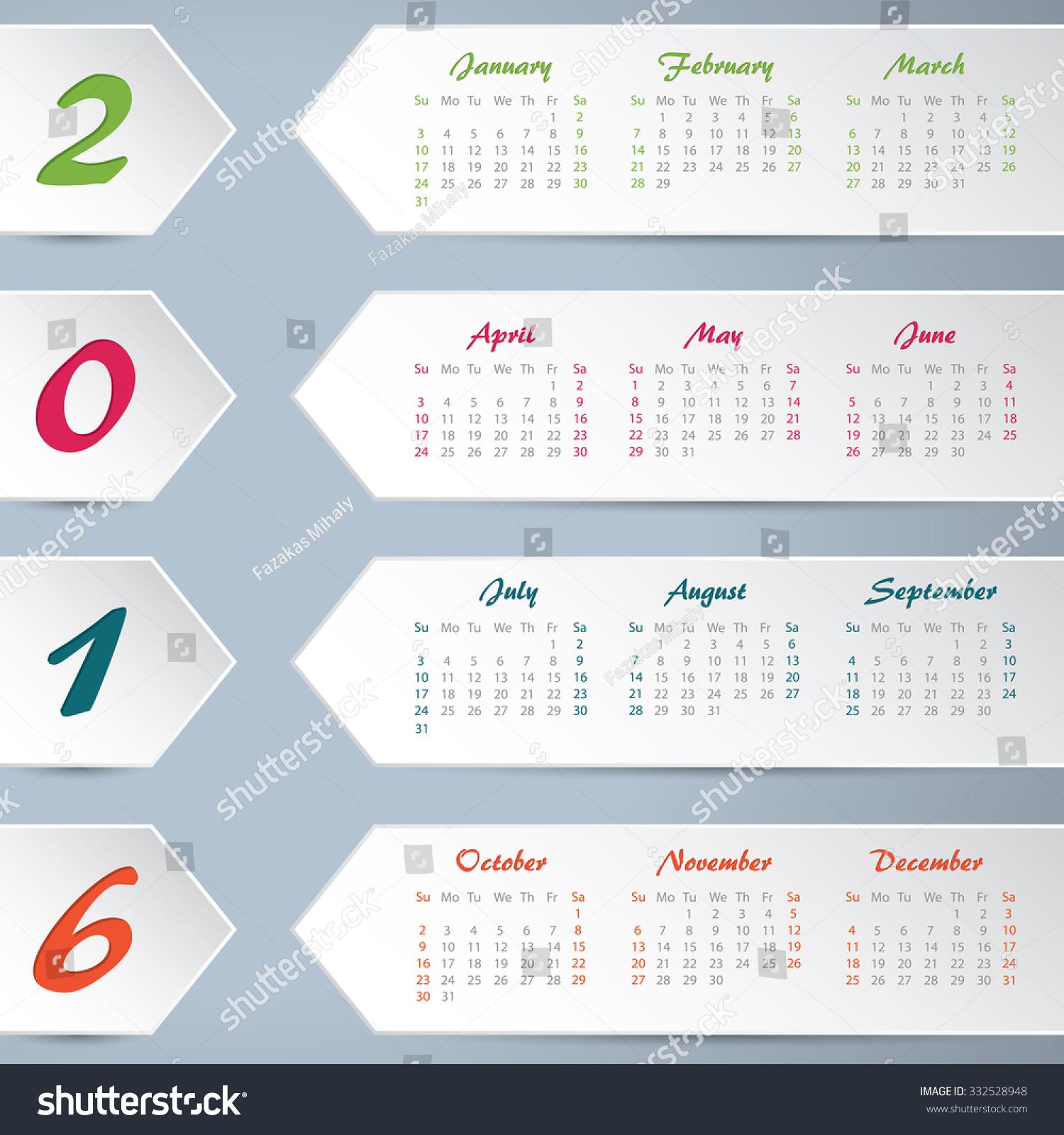 New Calendar Design : New calendar design white arrows stock vector