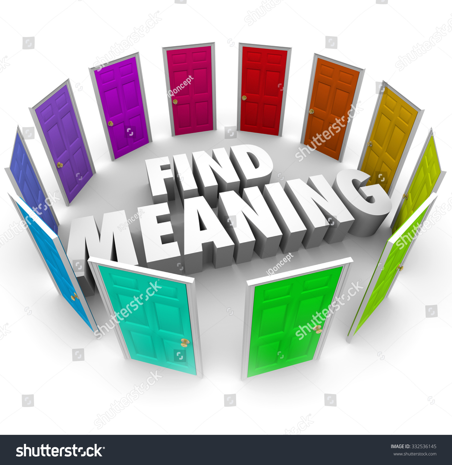 how to find meaning of words