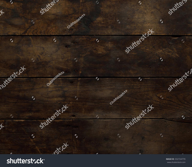 Worn horizontal wood floor stock photo 332724770 Worn wood floors