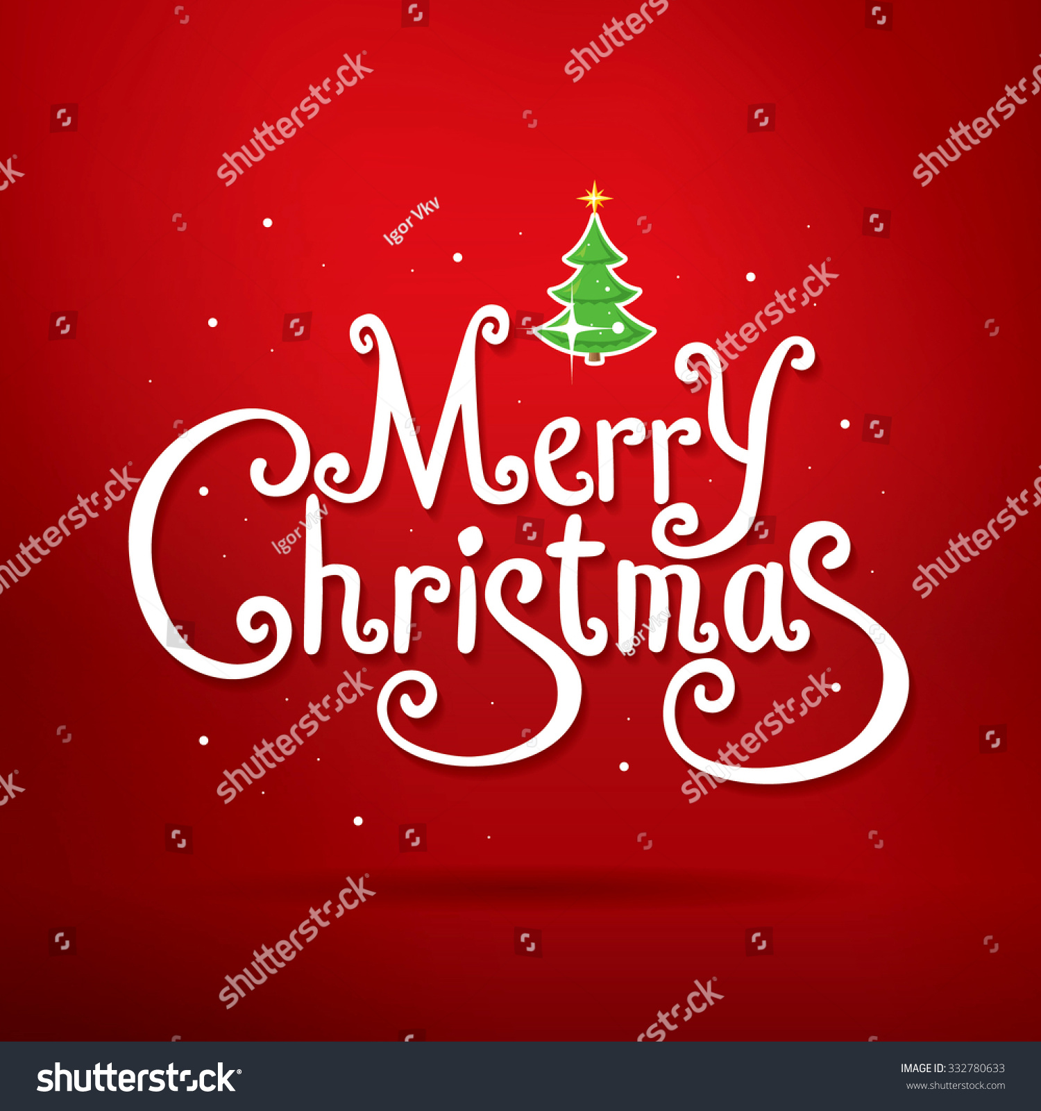 Merry christmas lettering christmas greeting card stock vector merry christmas lettering christmas greeting card kristyandbryce Image collections