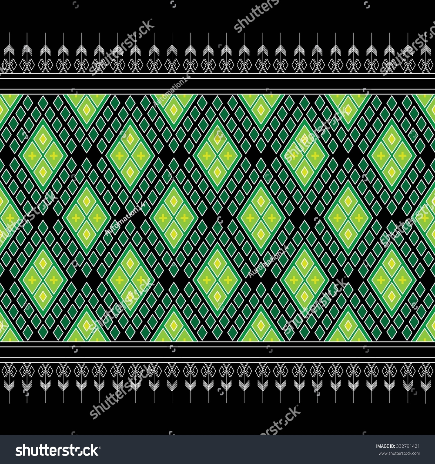 Geometric Ethnic pattern design for background carpet wallpaper clothing sarong wrapping