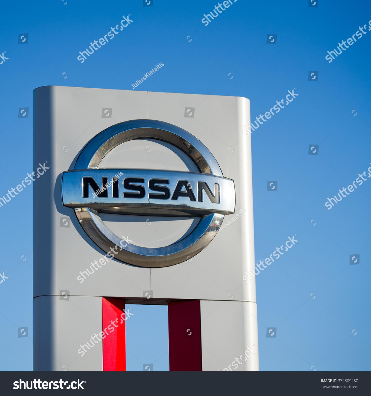 Vilnius Lithuania Feb 17 Nissan Dealership Stock Photo Edit Now