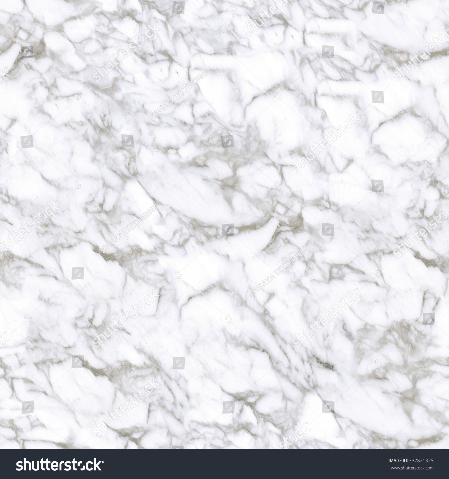 Marble Texture. White Stone Background. Tiled Design. Seamless Pattern
