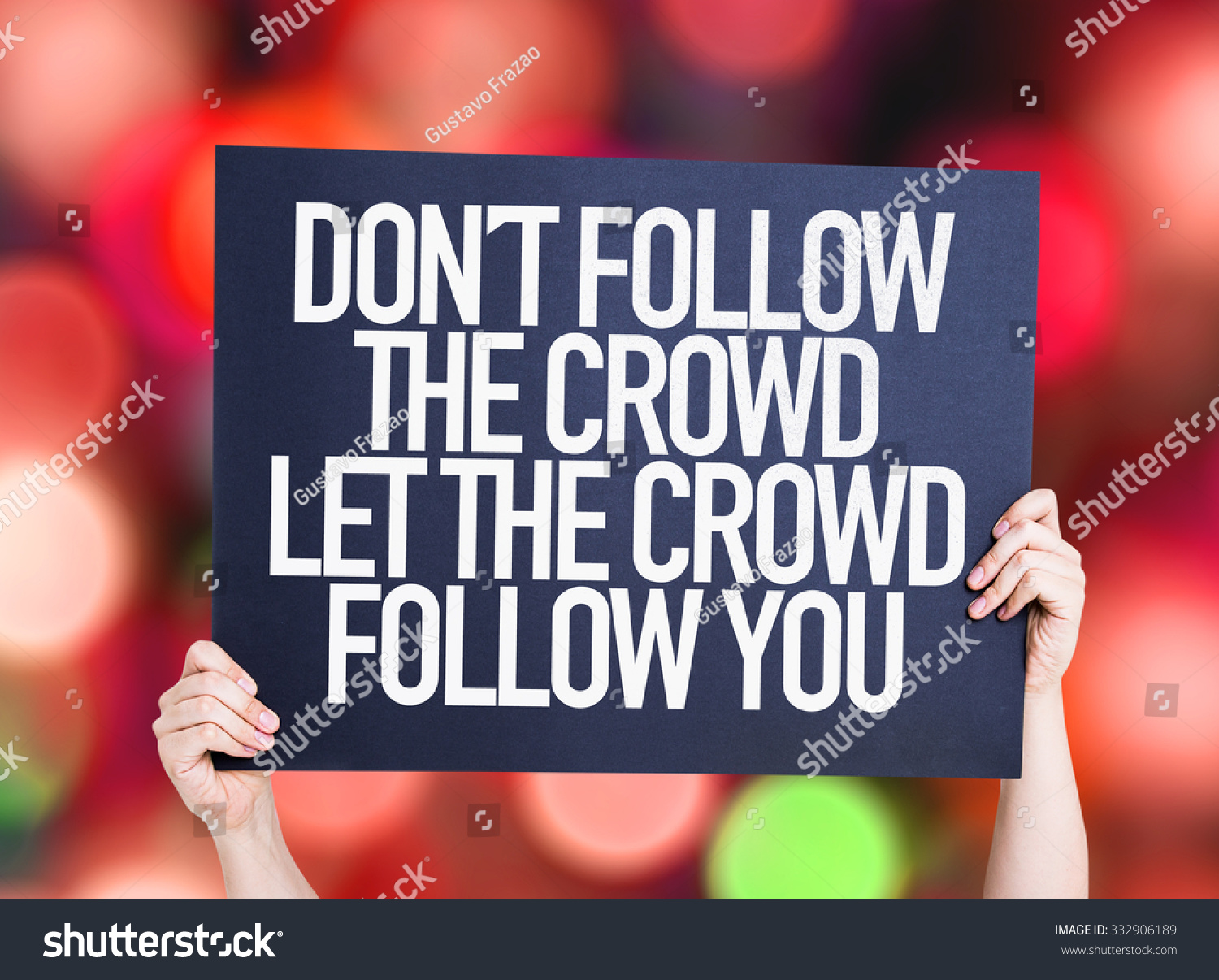 4 Amazing Reasons Why You Should Stop Following the Crowd
