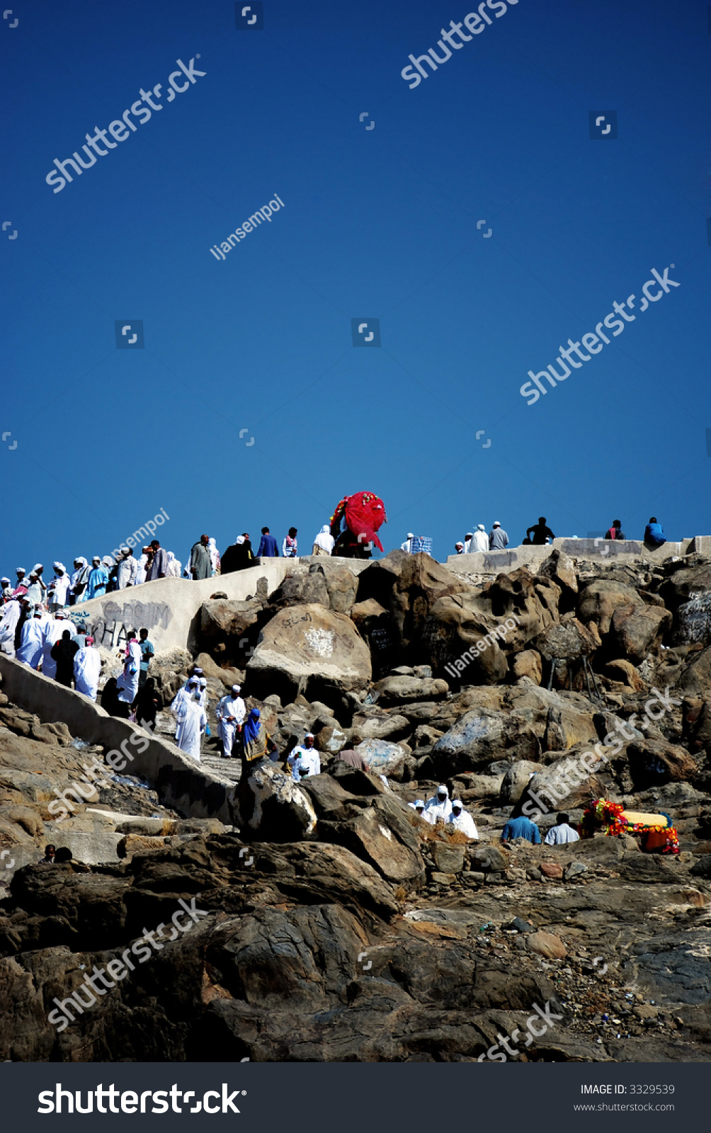Mount Of Mercy Jabal Rahmah This Is The Place Where