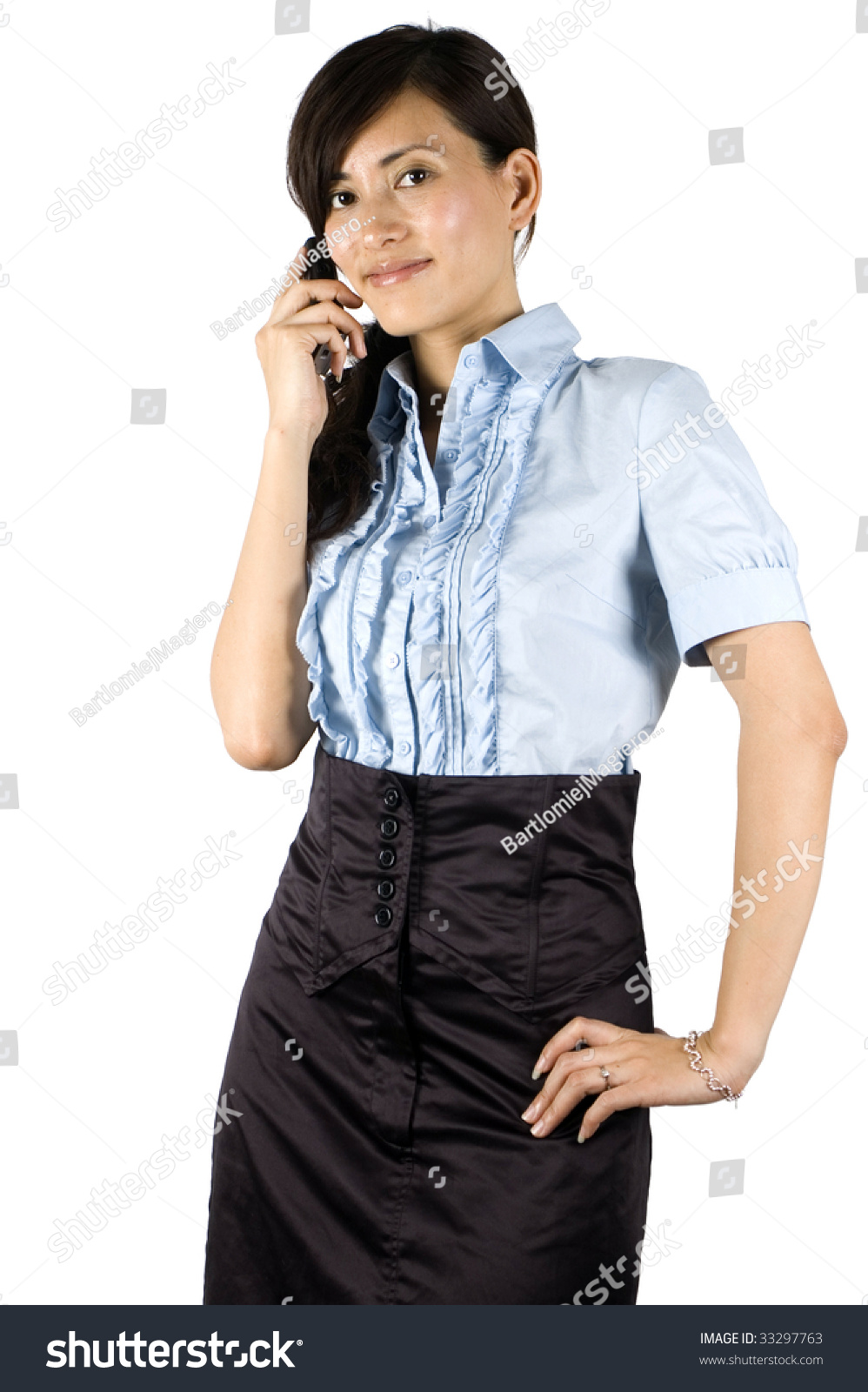 Elegant Asian Chinese Office Lady Elegant Clerk Young Asian Girl With Kind