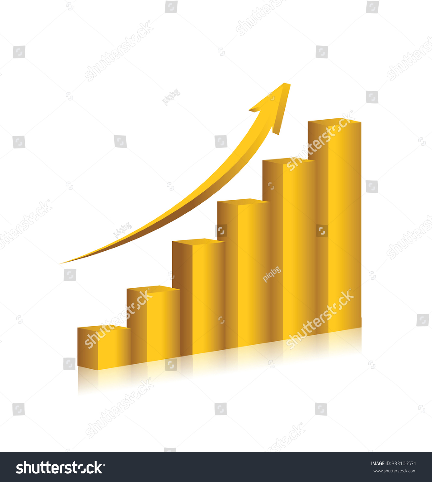 Business chart gold color vector design stock vector 333106571 business chart gold color vector design nvjuhfo Image collections