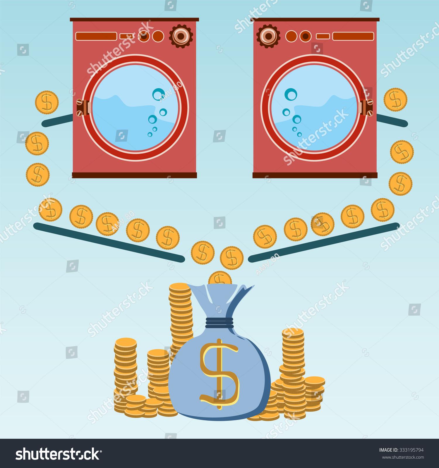 Profit laundry room washing machines appliances stock vector profit from the laundry room washing machines appliances store payment for goods and buycottarizona Images