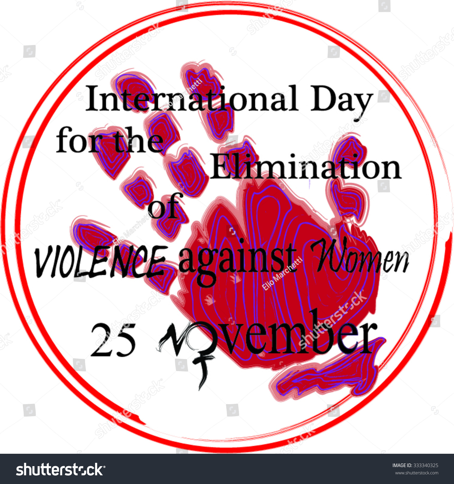 Vector celebrate november 25 international day stock vector vector to celebrate november 25 international day for the elimination of violence against women buycottarizona Choice Image