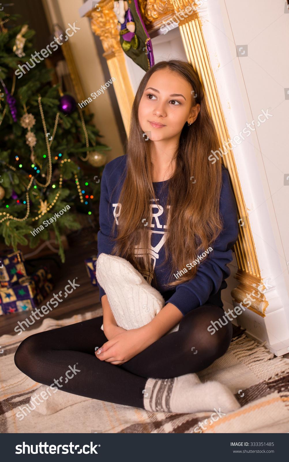 Young teen girls socks