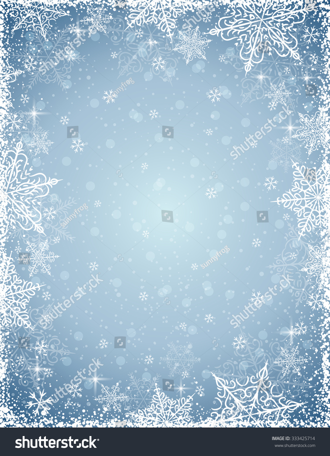 Gray snowflake vector
