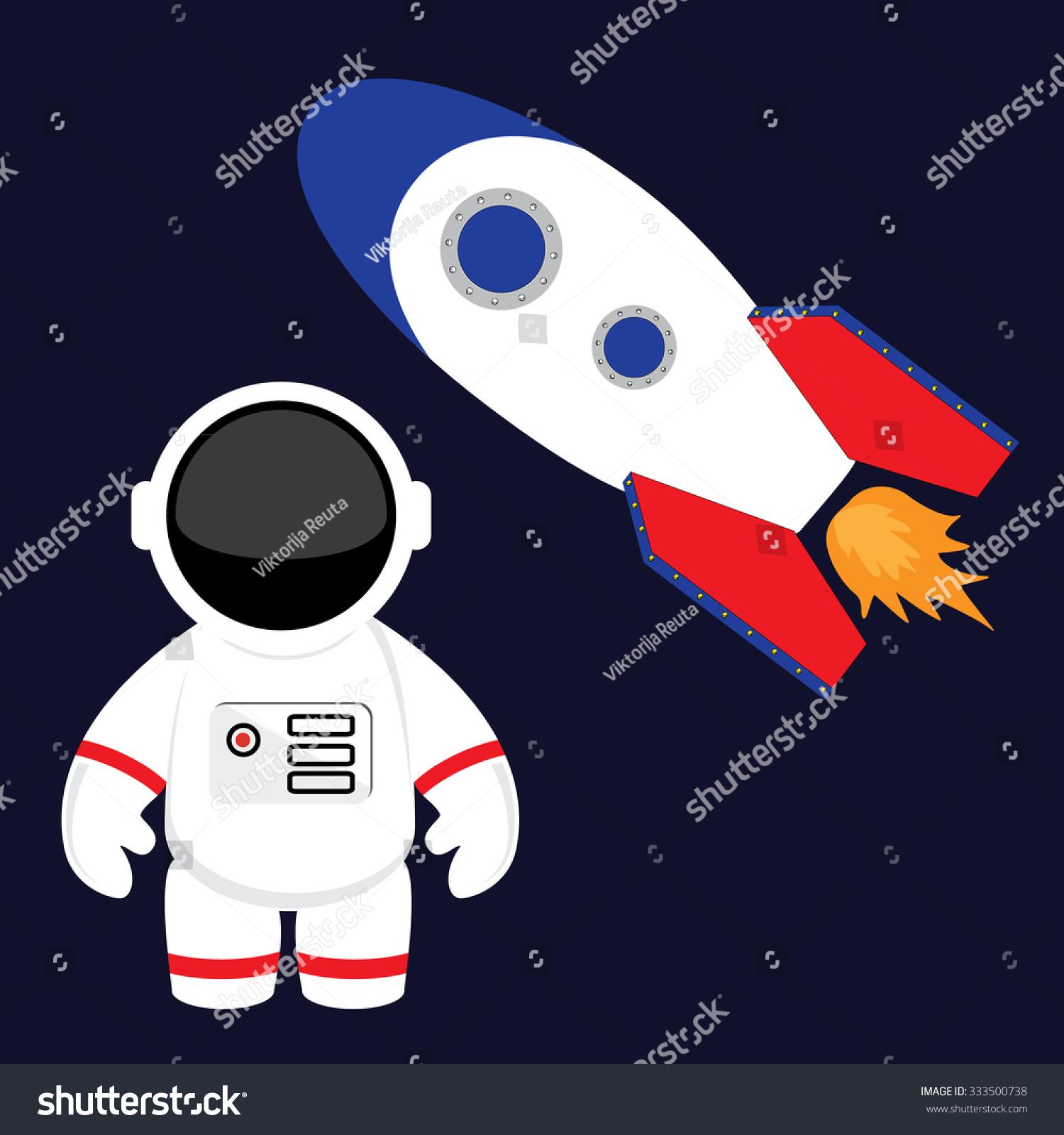 rocket space suit illustrations - photo #1