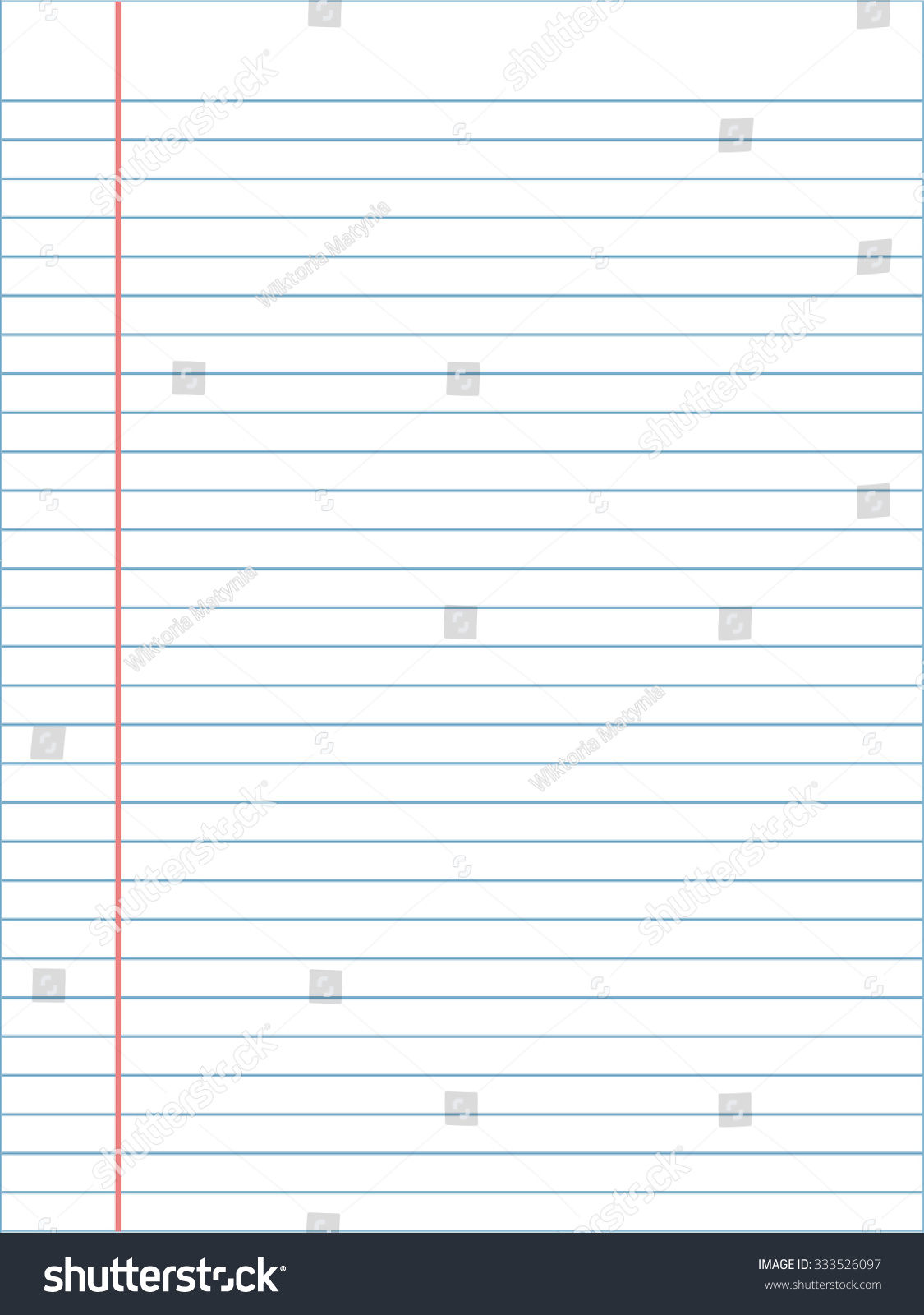 Notebook Page Template Vosvetenet – Word Notebook Paper Template