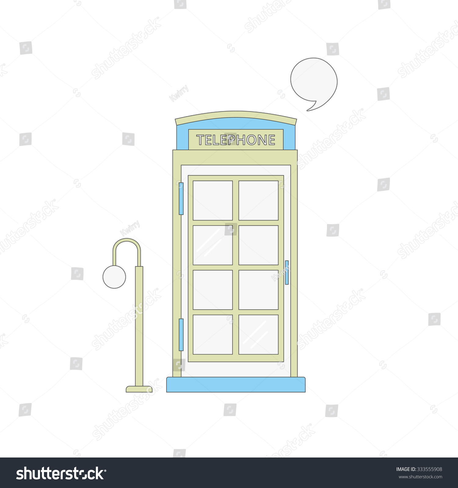 English Phone Booth Diagram Trusted Wiring Vector Illustration Telephone Stock Rh Shutterstock Com Kit Original