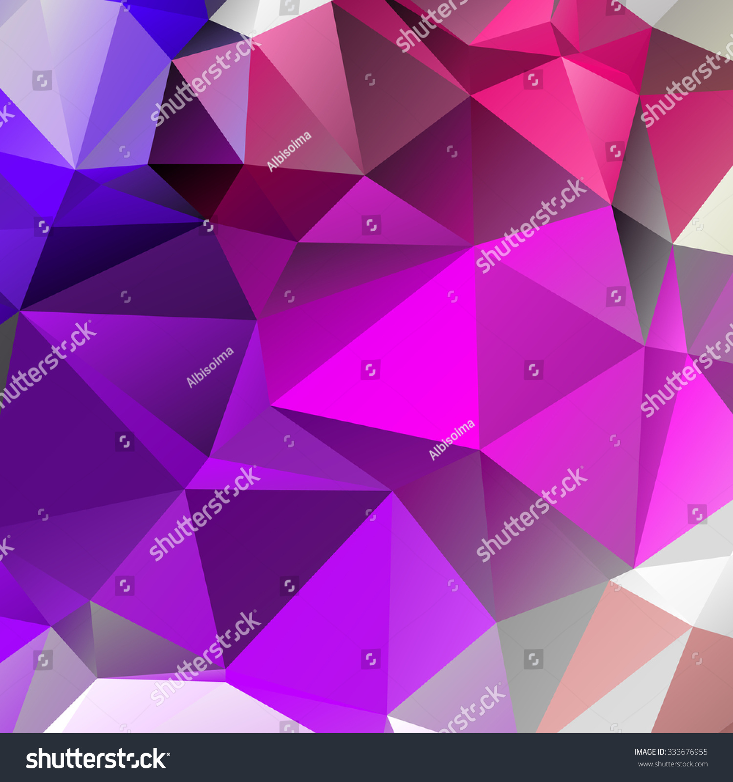 Light purple wallpaper pattern - Abstract Sharp Mauve Wallpaper With Triangular Pattern