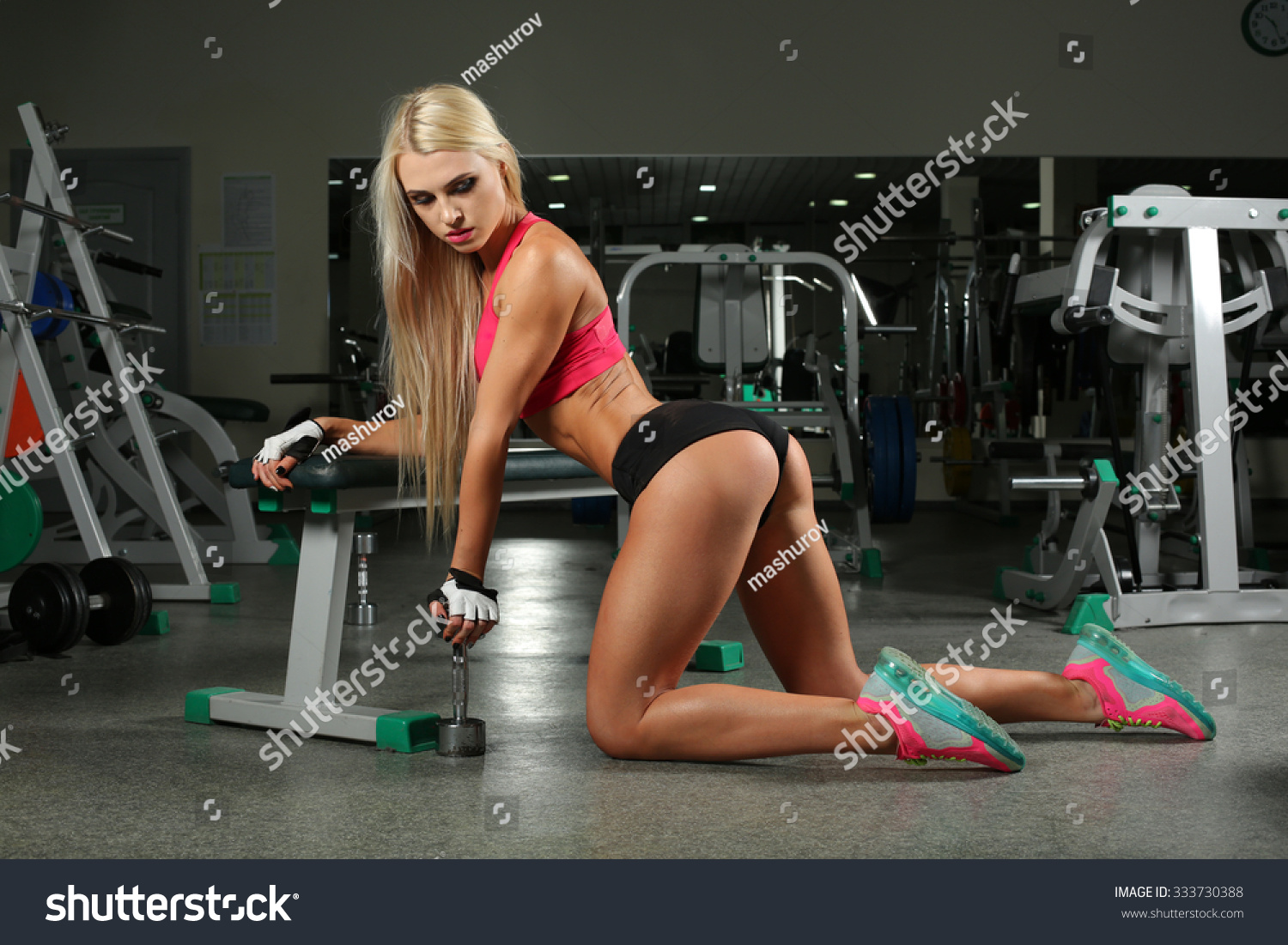 Hot Teens At The Gym