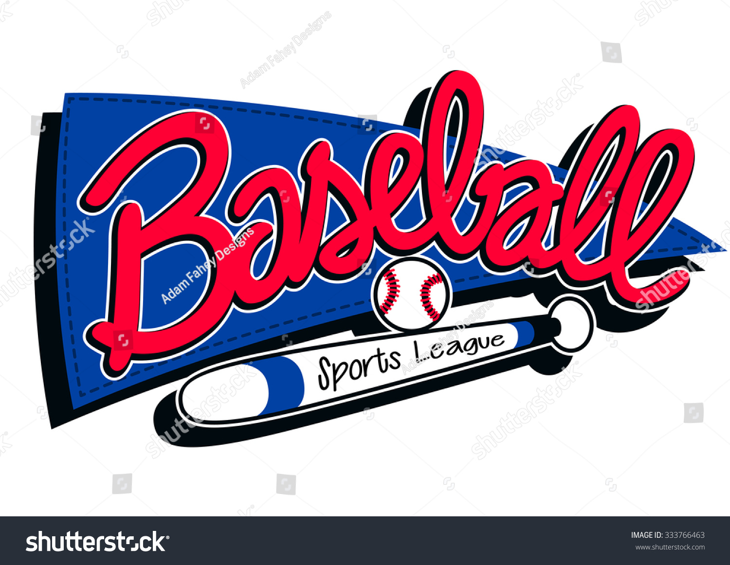 Welcome World League Of Beauty And Fashion Official Web: Baseball Sports League Childrens Banner Background Stock